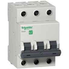 EZ9F34325  Автомат 3-полюсный 25А 4,5кА (хар-ка C) EASY 9  Schneider Electric